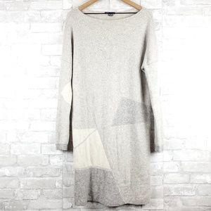 Vince long sleeve sweater dress   Size M